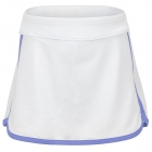 Fila Girl's Core Performance Tennis Skort (White/Amparo Blue) - Girl's Tennis Apparel