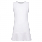 Fila Girl's Core Performance Tennis Dress (White) - Girl's Tennis Dresses