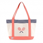 Ame & Lulu Blaine Tennis Lovers Tote Bag - Ame & Lulu Tennis Lovers Tote
