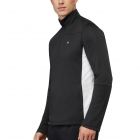 Fila Men's Core Performance Half Zip Tennis Jacket (Black/White) -