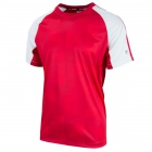 Fila Men's Core Performance Printed Tennis Crew (Crimson/White) -