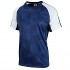 Fila Men's Core Performance Printed Tennis Crew (White/Navy) -