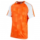 Fila Men's Core Performance Printed Tennis Crew (Team Orange/White) -