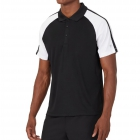 Fila Men's Core Performance Tennis Polo (Black/White) -
