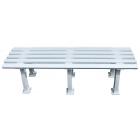 Tourna 5-Foot Mid-Court Tennis Bench - Shop the Best Selection of Tennis Court & Cabana Benches
