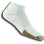 Thorlo TMM-11 Micro Mini White Socks - Thick Cushion Socks Tennis Apparel