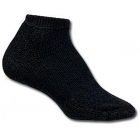 Thorlo TMM-13 Micro Mini Black Socks - Thick Cushion Socks Tennis Apparel