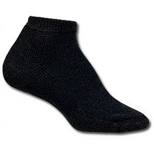 Thorlo TMM-11 Micro Mini Black Socks