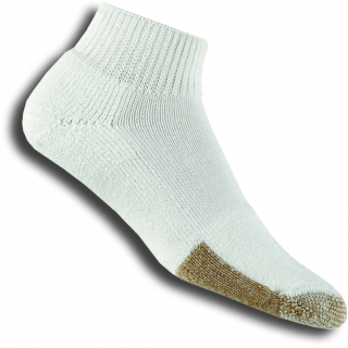 Thorlo TMX-13 1/4 White Socks