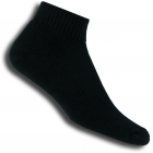 Thorlo TMX-11 1/4 Black Socks - Thick Cushion Socks Tennis Apparel