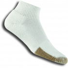 Thorlo TMX-11 1/4 White Socks - Thick Cushion Socks Tennis Apparel