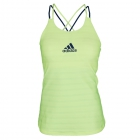 Adidas Women`s All Premium Strappy Tennis Tank (Frozen Yellow) - Women's Tennis Apparel