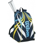 Wilson TopSpin Back Pack Large (Blue) - Tennis Racquet Bags