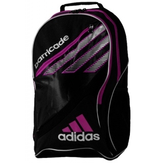 Adidas Barricade III Tour Racquet Backpack (Blk/ Pnk)