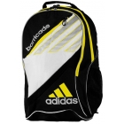 Adidas Barricade III Tour Racquet Backpack (Blk/ Wht/ Ylw) - Tennis Bag Types