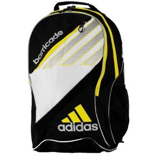 80c32620a609 Adidas Barricade III Tour Racquet Backpack (Blk  Wht  Ylw) - Do It ...