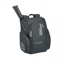 Wilson Tour V Large Backpack (Black/Silver)  - Tennis Bag Brands