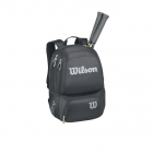 Wilson Tour V Medium Backpack (Black/Silver)  - Wilson Collection Tennis Bags