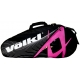 Volkl Tour Combi 6-Pack Bag (Hot Pink/ Black) - Breast Cancer Awareness