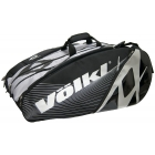 Volkl Tour Mega 9-Pack Bag (Sil/ Blk) - Volkl Tour Series Tennis Bags