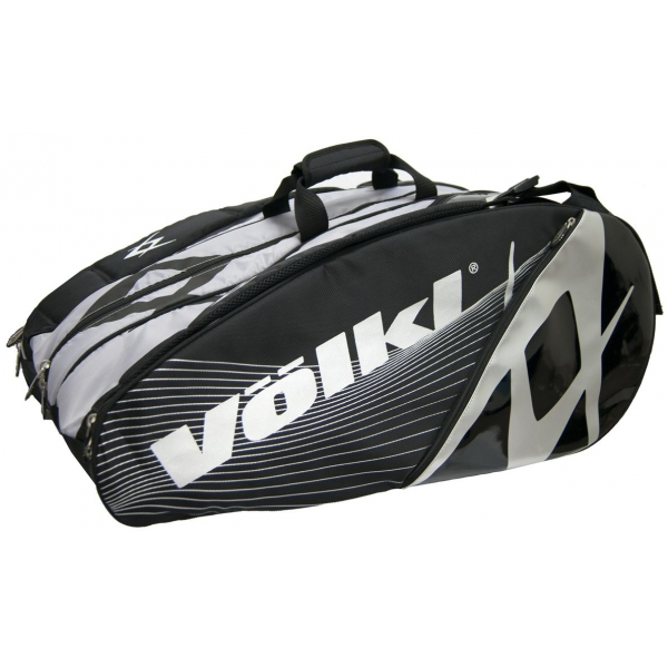 Volkl Tour Mega 9-Pack Bag (Silver/ Black)