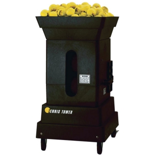 Tennis Tutor Tennis Tower  Player Ball Machine w/ Remote Option