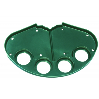 Tourna Tennis Court Tray (Black or Green Available)