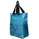 Glove It Tennis Tote (Aqua Leaf) - Tennis Tote Bags