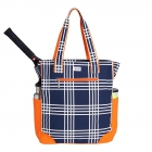 Ame & Lulu Abbey Plaid Emerson Tennis Tote - Tennis Tote Bags