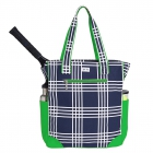 Ame & Lulu Parker Plaid Emerson Tennis Tote - Ame & Lulu Tennis Bags for Women