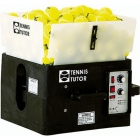 Tennis Tutor Ball Machine w/ Dual 2-Line - Portable Sports Tutor Tennis Ball Machines