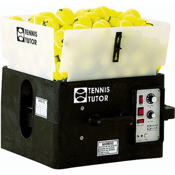 Tennis Tutor Ball Machine w/ Dual 2-Line