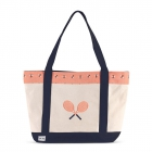 Ame & Lulu Bees Knees Tennis Lovers Tote Bag - Ame & Lulu Tennis Bags for Women
