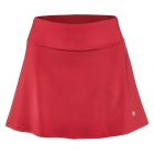 "Fila Women's Core Performance 15"" Flare Tennis Skort (Crimson) -"