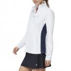 Fila Women's Core Performance Half Zip Tennis Jacket (White Navy) -