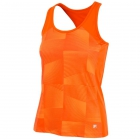 Fila Women's Core Performance Printed Racerback Tennis Tank (Orange) -