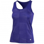 Fila Women's Core Performance Printed Racerback Tennis Tank (Purple) -