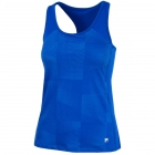 Fila Women's Core Performance Printed Racerback Tennis Tank (Royal) -