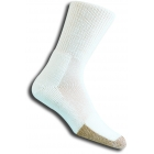 Thorlo TX-13 Crew White Socks - Thick Cushion Socks Tennis Apparel