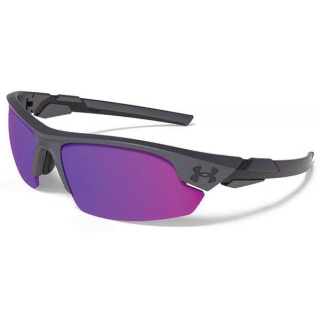 Under Armour Windup Youth Infrared Multiflection Sunglasses (Satin Carbon/Black)