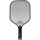 Engage Ultra Aluminum Core Fiberglass Paddle (Grey/ Blue) - Pickleball Equipment