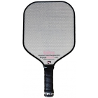 Engage Ultra Aluminum Core Fiberglass Paddle (Grey/ Pink) - Pickleball Equipment