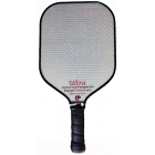 Engage Ultra Aluminum Core Fiberglass Paddle (Grey/ Red) - Tennis Court Equipment