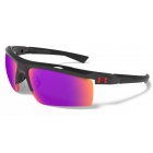 Under Armour Core 2.0 Multiflection Sunglasses (Shiny Black / Black) - Tennis Accessory Types