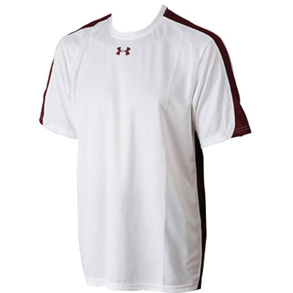 Under Armour Men's Team Zone Tee (Wht/ Mrn)