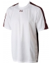 Under Armour Men's Team Zone Tee (Wht/ Mrn) - Under Armour