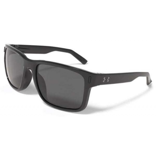 Under Armour Assist Polarized Sunglasses (Shiny Black)