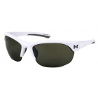 Under Armour Marbella Women's Sunglasses (Shiny White/Light Gray) - Tennis Accessories