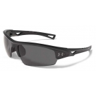 Under Armour Octane Polarized Sunglasses (Shiny Black) - Tennis Accessories