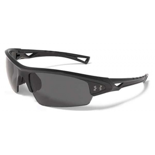 Under Armour Octane Polarized Sunglasses (Shiny Black)